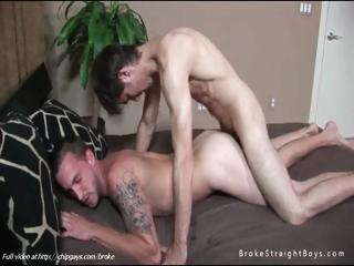 Cute lovely twink shafting ass