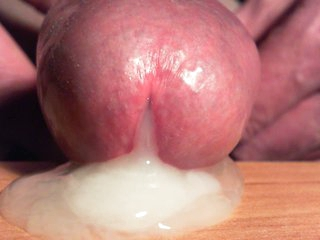 SPERM that comes out be fitting of my cock, very closely ......