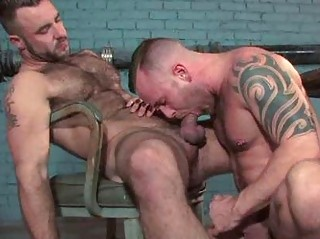 Hairy Big Daddies Fucking Each Others Ass