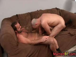 Married straight guy gets anus fingered