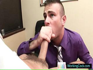 Matthew getting lubed for some crucial anal fuck by workingcock