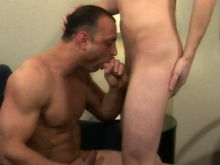 Brad had always been so curious about Jaymz' hot synod and his hard...