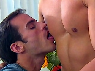 This all out gay group sex features Morgan Allen, Dino Phillips and...