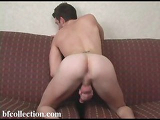 Hot boy jerking his dick to cum hard