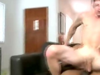 Horny little twink rides cock
