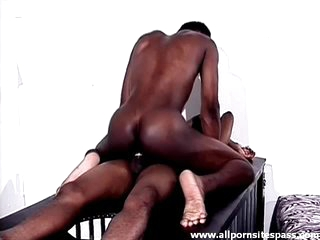 Tight funereal body guy sits on a hard dick